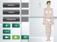 Trattamento macchinario per pressoterapia, Linfopress. Schermata dei nostri apparecchi e macchinari per pressoterapia